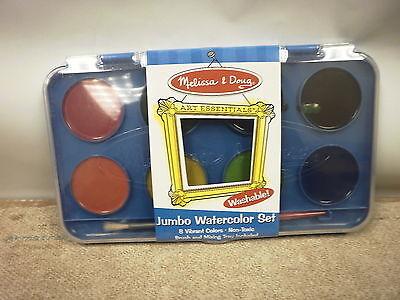 Jumbo Watercolor Set - MELISSA & DOUG 4121 JUMBO WATERCOLOR SET ART ESSENTIALS NEW