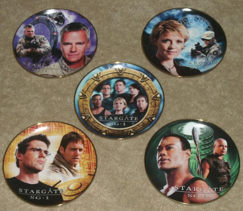 Stargate SG1 Spec. Ed. 10th Anniv. Plate Set - Limited Edition - Numbered Set #2