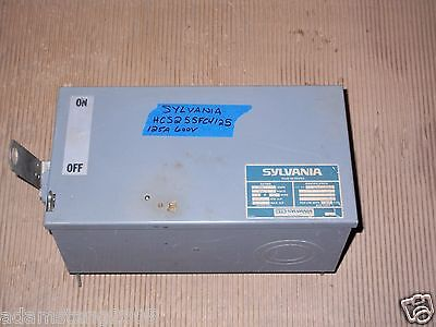Sylvania Hcs Hcs255fc4125 125 Amp 600v Breaker Buss Bus Plug