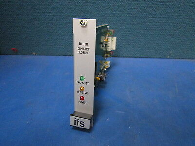 NEW IFS Bi-Directional Contact Closure Transceiver (850 nm) D1810