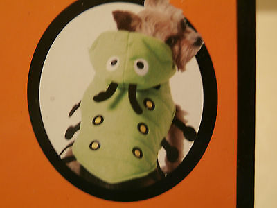 Caterpillar Dog Costume NEW Size XS - Pet Outfit X-Small (Dog Caterpillar Costume)