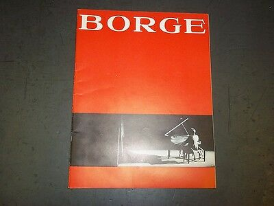 1964 BORGE COMEDY IN MUSIC BROADWAY PROGRAM - VICTOR BORGE - II 2778