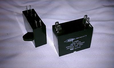 Mini Split Capacitor (1) - 6 mfd 6 uf - 450V - 4 Terminal - 50/60HZ