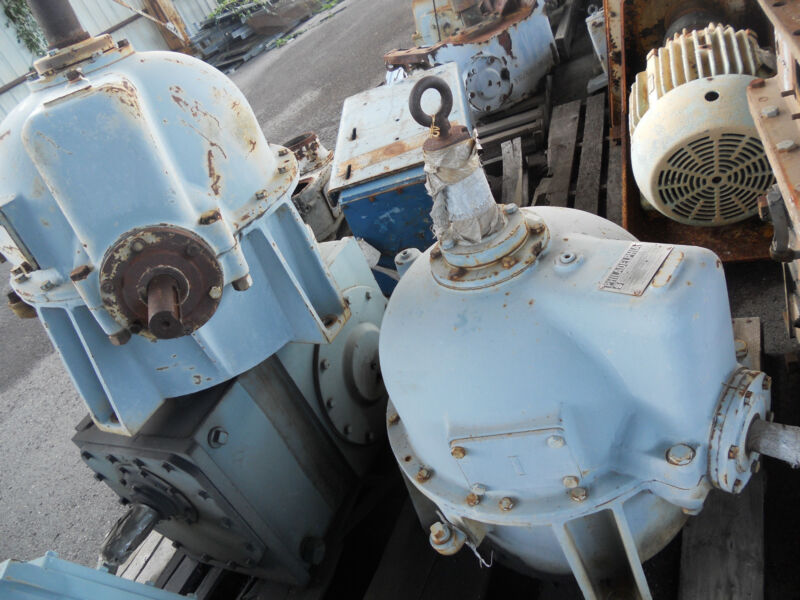 PHILADELPHIA COOLING TOWER GEAR REDUCERS #3418CT, #3422CT