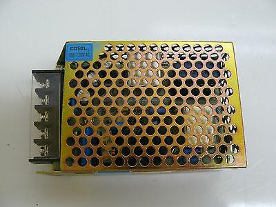 Cosel R25u-12 Power Supply 100-120 V 0.70a 5060 Hz Output 12 Volt 2.1 Amp