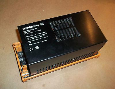 Weidmuller 24vdc Power Supply 991534 6.5 Amp