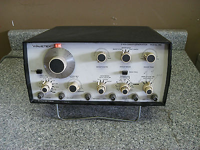 Wavetek Model 184 5 Mhz Linear Logarithmic Sweep Generator Used