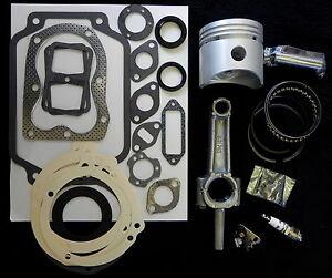 ENGINE REBUILD KIT for 8HP KOHLER  K181 and M8 w/FREE ITEMS
