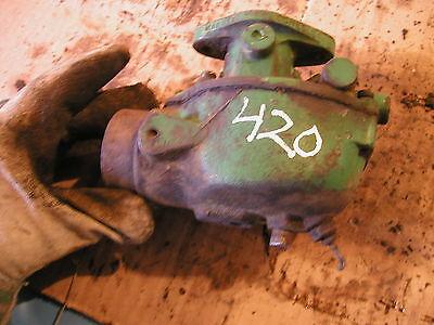 John Deere 420 Tractor Original Jd Marvel Schebler Good Working Carburetor