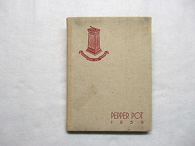 1939 Ethel Walker School Yearbook Simsbury Ct Connecticut
