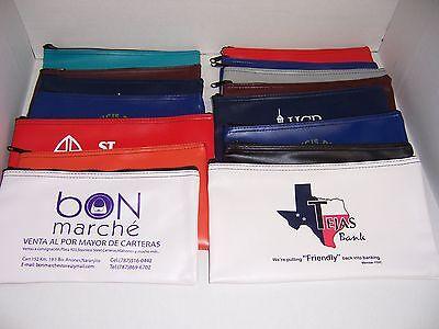 5 Piece Assorted Bank Deposit Bag Wholesale Lot Tool Bag Organizer