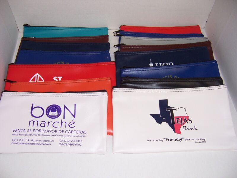 10 Piece Assorted Bank Deposit Bag Wholesale Lot Tool Bag Organizer