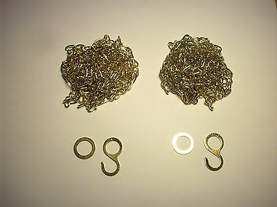 Cuckoo Clock Chains for 2 weight 8 day Regula 34 Movement , Coo Coo Clock Parts (8 Day Movement Cuckoo Clock)