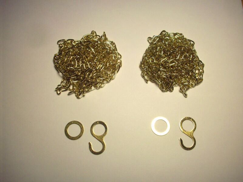 Cuckoo Clock Chains for 2 weight 8 day Regula 34 Movement , Coo Coo Clock Parts