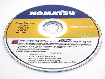 Komatsu Sk1026-5n Crawler Skid-steer Track Loader Shop Repair Service Manual