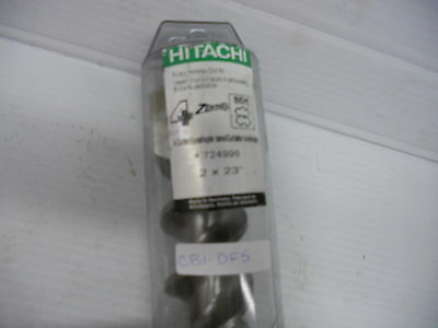 Hitachi Sds-max Rotary Hammer Drill Bit 2x23 Part724999 Cb1-df5-1