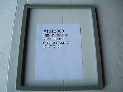 1612000 Cover Gasket 17.5x15reversible Fits Henny Penny Fryer Mod.500561600