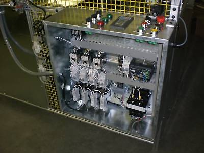 Sibe Automation Plc Control System For Cycle Heaters Vacuum Forming Machine