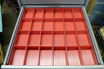 24 4x6x2 Plastic Boxes Fit Lista Vidmar Waterloo Craftsman Kennedy Snapon