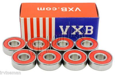 8 Scooter Bearings Ceramic Sealed Ball Bearings