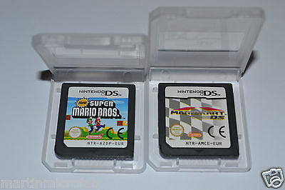 New Super Mario Bros. and Mario Kart  for Nintendo DS, Cartridge only