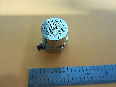 Accelerometer Columbia Bell Model 321-h-ht-i 3.66 Pcg Vibration Calibration