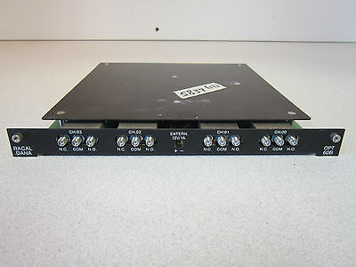 Microwave Switch Module Racal-dana 1250-60b 18ghz 11x 11x 1