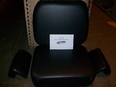 International Ih Dresser 500e Crawler Loader Seat Set Cushion 4 Piece New