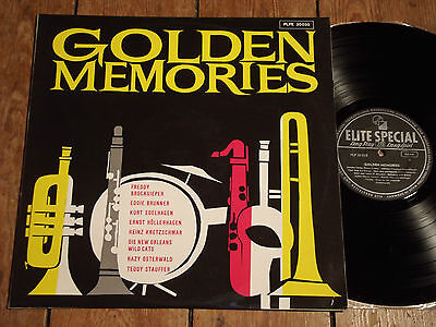 V/A - GOLDEN MEMORIES - BROCKSIEPER / BRUNNER / HÖLLERHAGEN u.a. - LP - ELITE