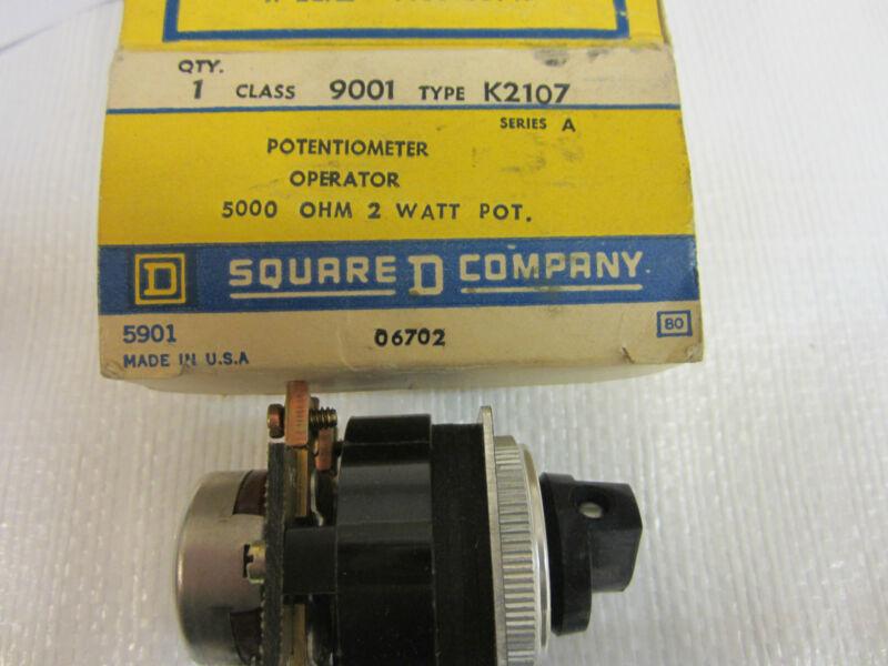 SQUARE D K2107 POTENTIOMETER SER A.
