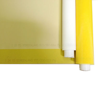 Silk Screen Printing Mesh Fabric 125 White 10 Yards 56 Width
