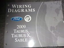 2009 FORD TAURUS X TAURUS Mercury Sable Electrical Wiring ...