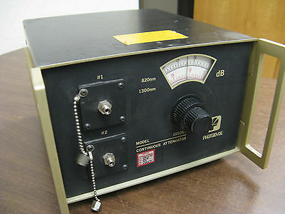 Photodyne 1950xr-100 Continuos Attenuator