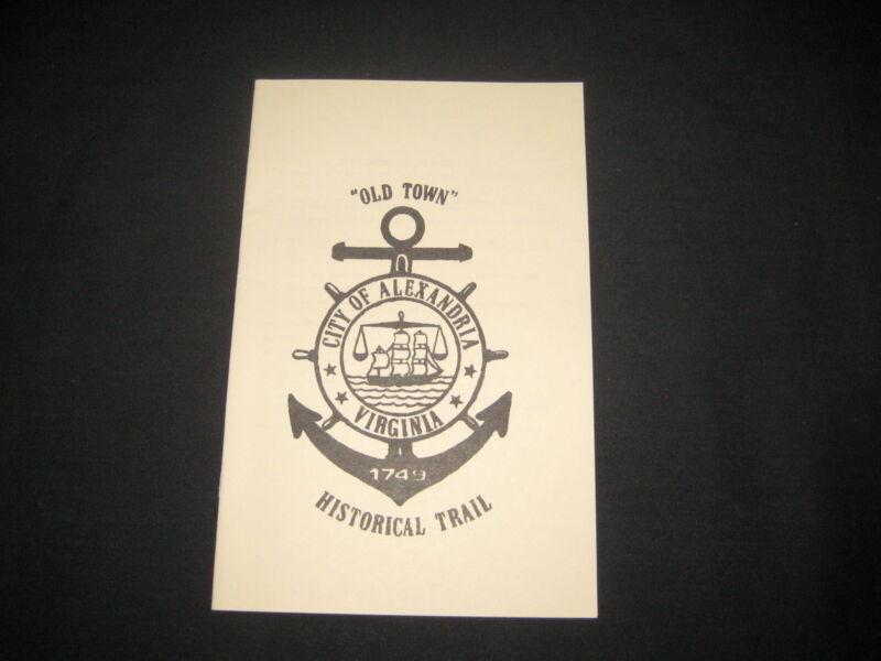 Old Town Alexandria Historical Trail Brochure, Alexandria, VA