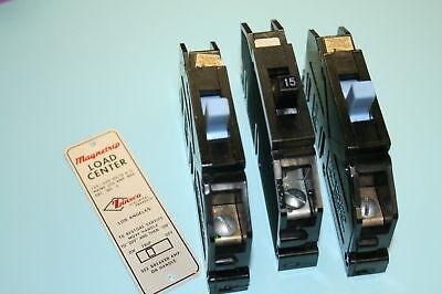 1 Zinsco Sylvania Breaker 15 Amp 1-pole Type Q
