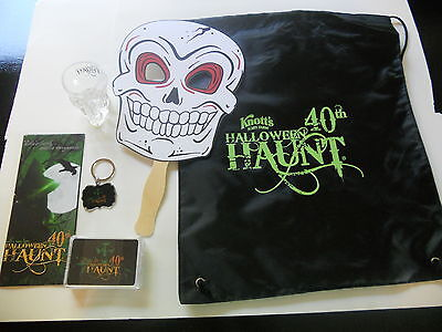 KNOTTS BERRY SCARY FARM HALLOWEEN HAUNT TRICK OR TREAT PACK 40th GREEN WITCH (Halloween Haunt Green Witch)