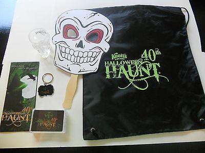 KNOTTS BERRY SCARY FARM HALLOWEEN HAUNT TRICK OR TREAT PACK 40th GREEN - Halloween Haunt Green Witch