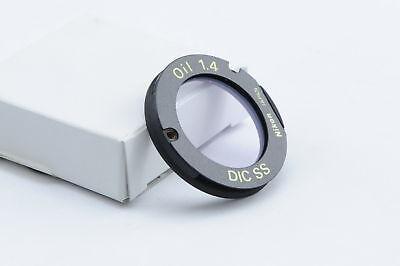 Nikon Cc Dic Condenser Module Nh Oil Ss Vec Mbh72240
