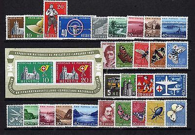 Schweiz ** - Jahrgang 1955 u. 1956   ( 23062-o1 )
