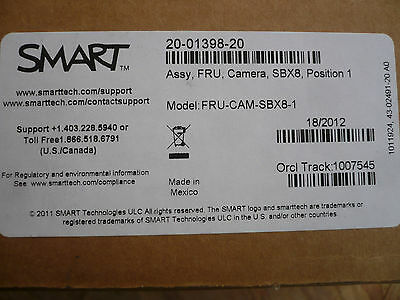 Lot Of 20 New Smart Fru-cam-sbx8-1 20-01398-20 Replacement Whiteboard Camera 800