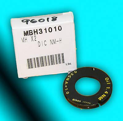 Nikon Dic-nm Microscope Condenser Prism For Oil