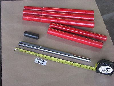 Lot Of 4 New Lrtijasco Tungsten Carbide Drill Bit Tl-810162-0044 .630 Approx.