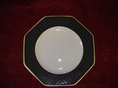 Pearl Dessert (VILLEROY BOCH V&B Heinrich Black Pearl 3 Frühstücksteller Dessertteller Teller)