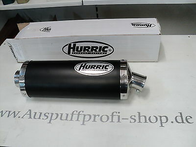 AUSPUFF HURRIC RAC1 BLACK OVAL KURZ BMW K1300 S