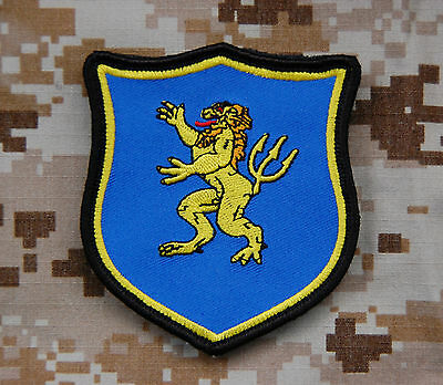Navy SEAL Team 6 DEVGRU Lion Gold Squadron Full Color Patch Zero Dark Thirty MOH