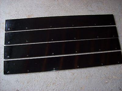 Wacker Rd11a Rd12 Rd16 Vibratory Asphalt Roller Scraper Set Of 4 - 0183039