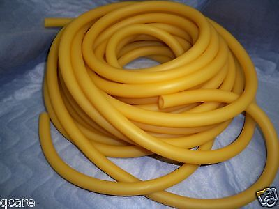 10 Feet 316 I.d X 332 Wall X 38 O.d Latex Rubber Tubing Surgical Amber