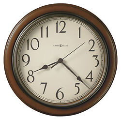 HOWARD MILLER WALL CLOCK 625-418  KALVIN- 15 1/4 DIAMETER ROUND  625418