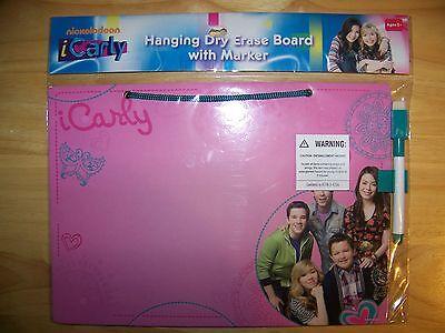 Nickelodeon Icarly Hanging Dry Erase Board W Marker - Pink