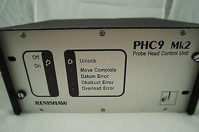 Renishaw Cmm Phc9mk2 Motorized Probe Head Controller Ieee With Warranty